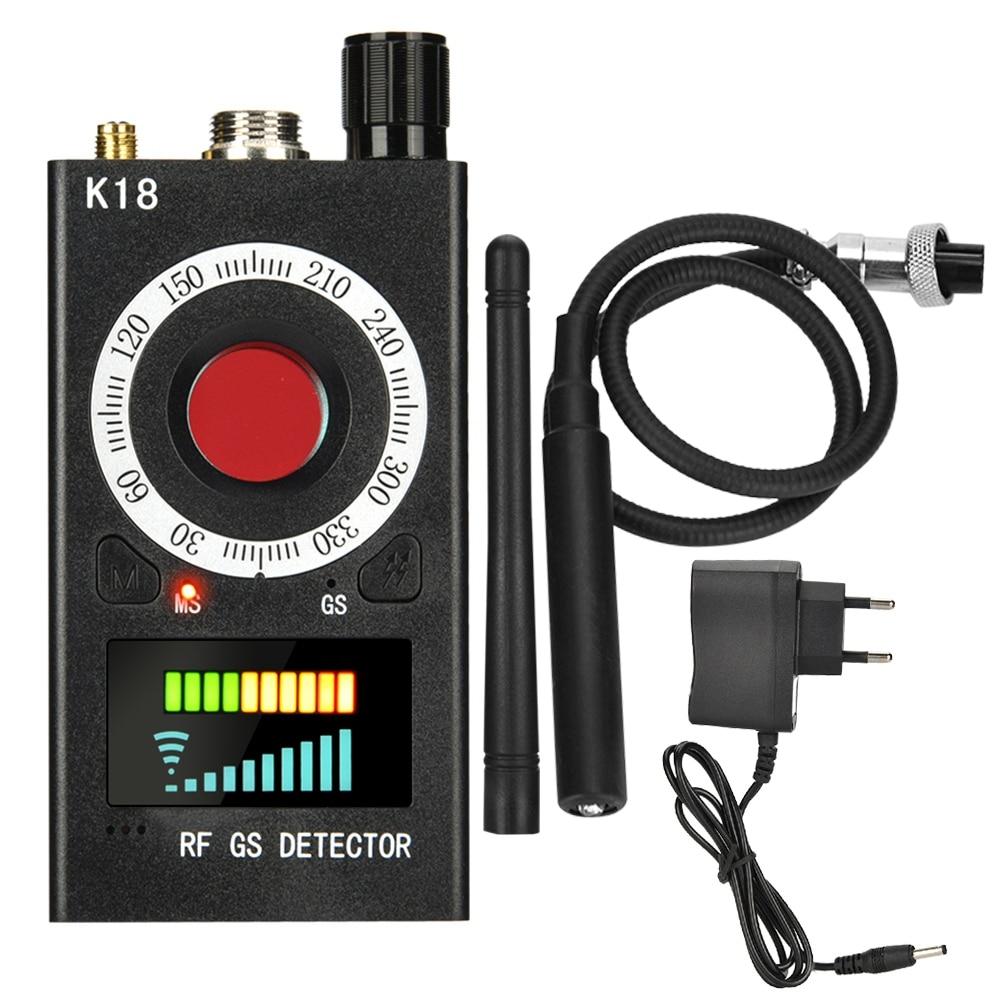 Détecteur de Signal sans fil multifonction 1 MHz-6.5 GHz Anti-espion RF Tracker détecteur de bogues GSM