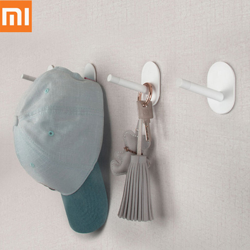 01 Happy Life Storage Hook High-Quality Lightweight Simple Style Multi-Function Storage Hook From 01 Youpin 3pcs image