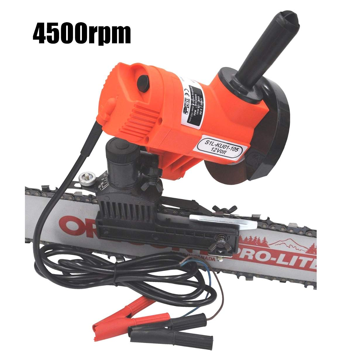 Portable Chainsaw Sharpener Chain Saw Bar Mounted Electric