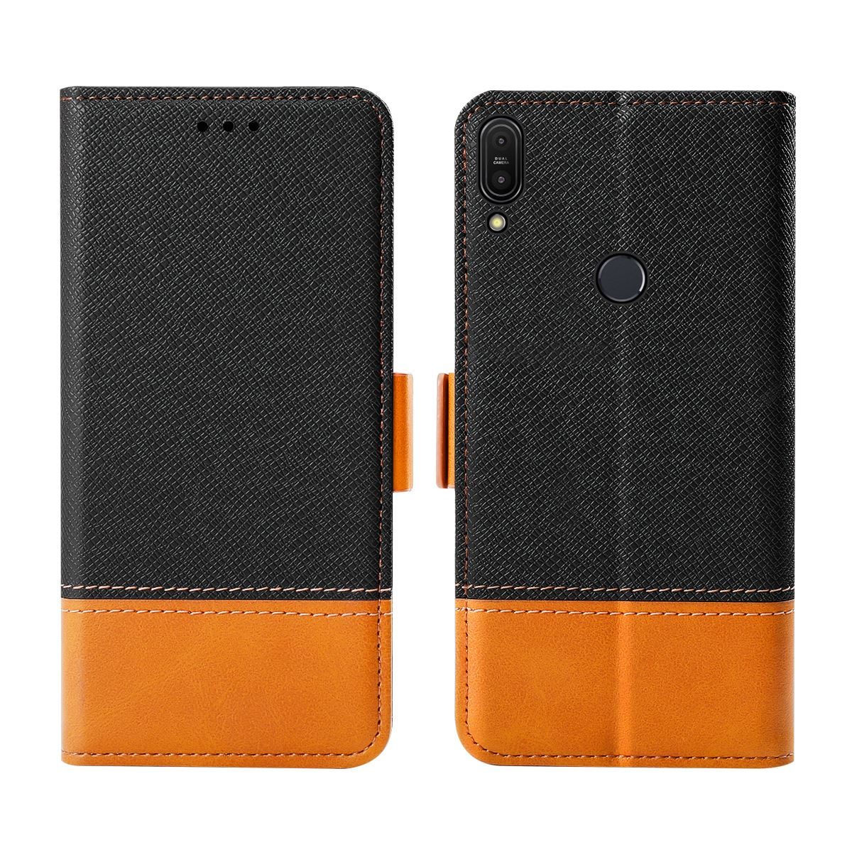 For <font><b>Asus</b></font> ZenFone Max Pro M1 <font><b>ZB601KL</b></font>/ZB602KL Phone Case Flip Stand Wallet Case Cover For <font><b>Asus</b></font> ZenFone Max Pro M1 Card Holder image