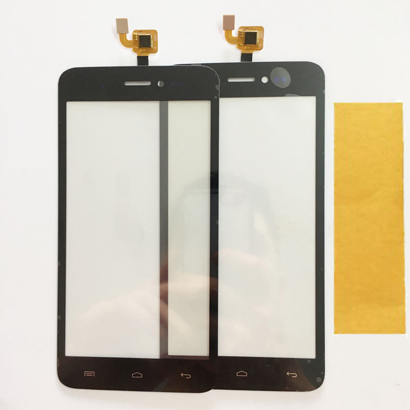 New Tested Touchscreen For Explay Rio Play Touch Screen Sensor Digitizer Front GlassTouch Panel ReplacementBlack Color