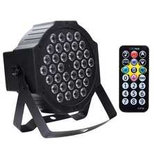 Black 36 LED UV lighting effects Professional Stage Light Disco DJ Projector Machine Party with Wireless Remote Control