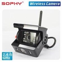 Новинка! SOPHY 7 дюймов Автомобильный беспроводной монитор заднего вида монитор с беспроводной камерой водонепроницаемый широкий обзор SH708-WR