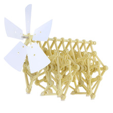 Wind-Powered Animaris Ordis Toy Parvus Strandbeest Model Robot DIY Assembly Walker Educational Toy Kit For Technology Learning(China)
