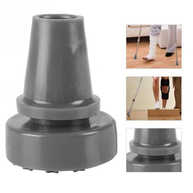 360 Rotierenden Anti-slip Spazierstock Standing Gummi Cane Krücke Pad Ende Unteren Spitze Zubehör
