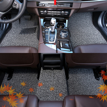 Styling Parts Decoration Accessories Protector Interior Automovil Accessory Decorative Carpet Car Floor Mats FOR Hyundai Verna customized car floor mats for hyundai starex h 1 travel imax i800 h300 matrix lavita terracan high quality car styling carpet
