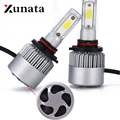 Super bright Auto Bulbs LED Lamp Automotivo H1 H3 H4 H7 H8 H11 H13 9004 9005 9006 9007 Car Styling S2 LED Car Headlights