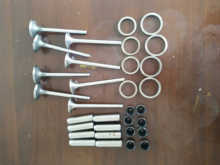 Original  inlet and exhaust value,valve seat,valve guide,valve seals for ZH4105D ZH4105ZD ZH4105P/C weifang diesel engine