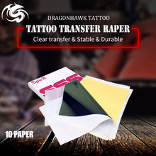 Tattoo Stencil Transfer Carbon Paper Top 10 pcs A 4 Size supply WS011*10