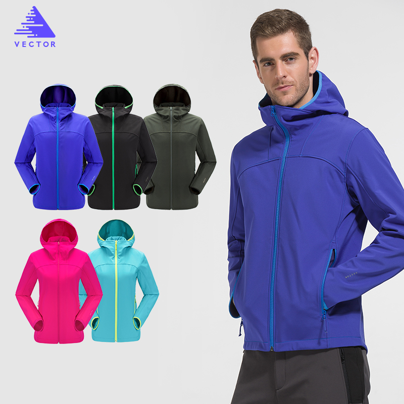 Mens Water Resistant Windproof Soft Shell Jacket SF001