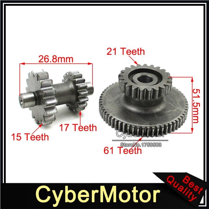 US $19 47 5% OFF|Starter Starting Dual Gears For Zongshen CB250 CB 250cc  Air Cool Engine Pit Dirt Motor Bike ATV Quad 4 Wheeler-in Engine Cooling &
