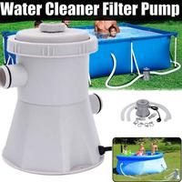 Swimming Pool Filter Pump Pool Cleaner 220v Filter Pump Circulation Pump Siphon Principle Easy Quick To Install Household Items