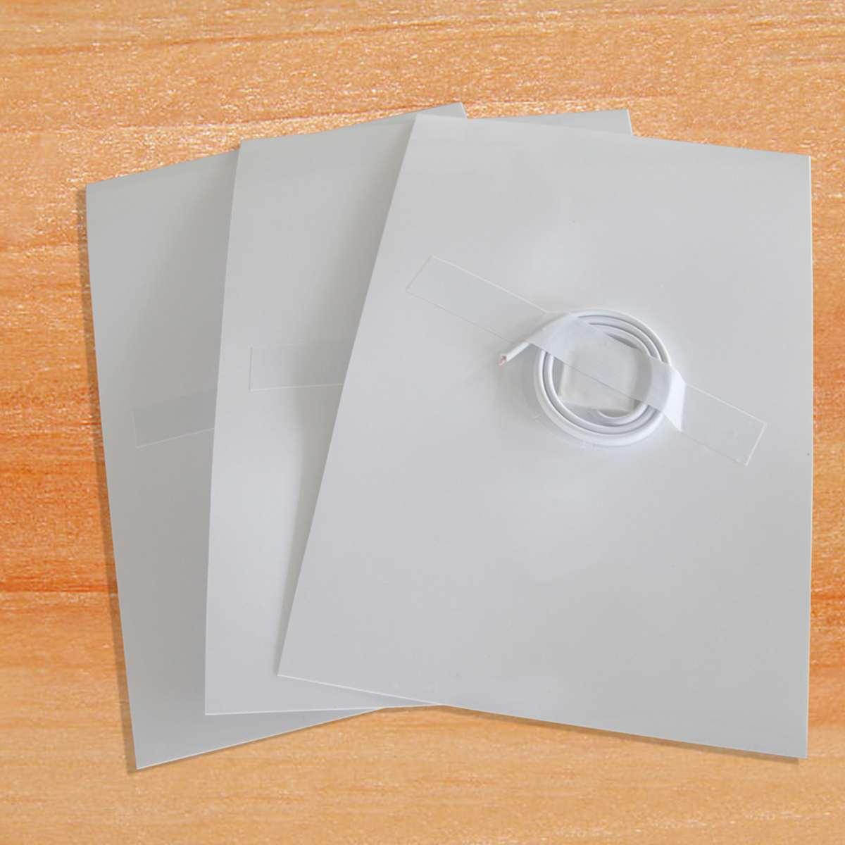 Film de protection douche avec miroir de bain, Membrane Anti-brouillard, Film de protection pour la douche avec Film transparent de maquillage étanche, Film chauffant électronique