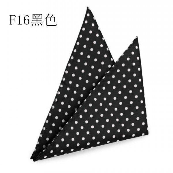 Polka Dots Big Polyester Pocket Square Hanky Jacquard Woven Classic Wedding Party Handkerchief 8 Color