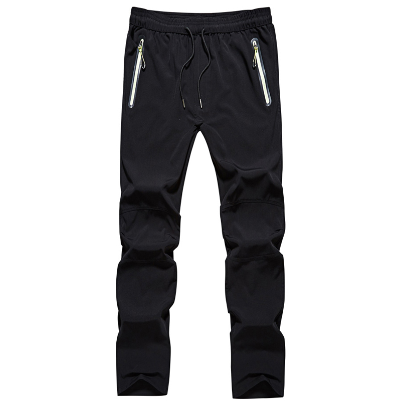 Υπαίθρια αθλητικά παντελόνια Mens μόδας άνοιξη του φθινοπώρου γρήγορη ξήρανση παντελόνια άνδρες Joggingg παντελόνι αδιάβροχο αναπνεύσιμο τέντωμα