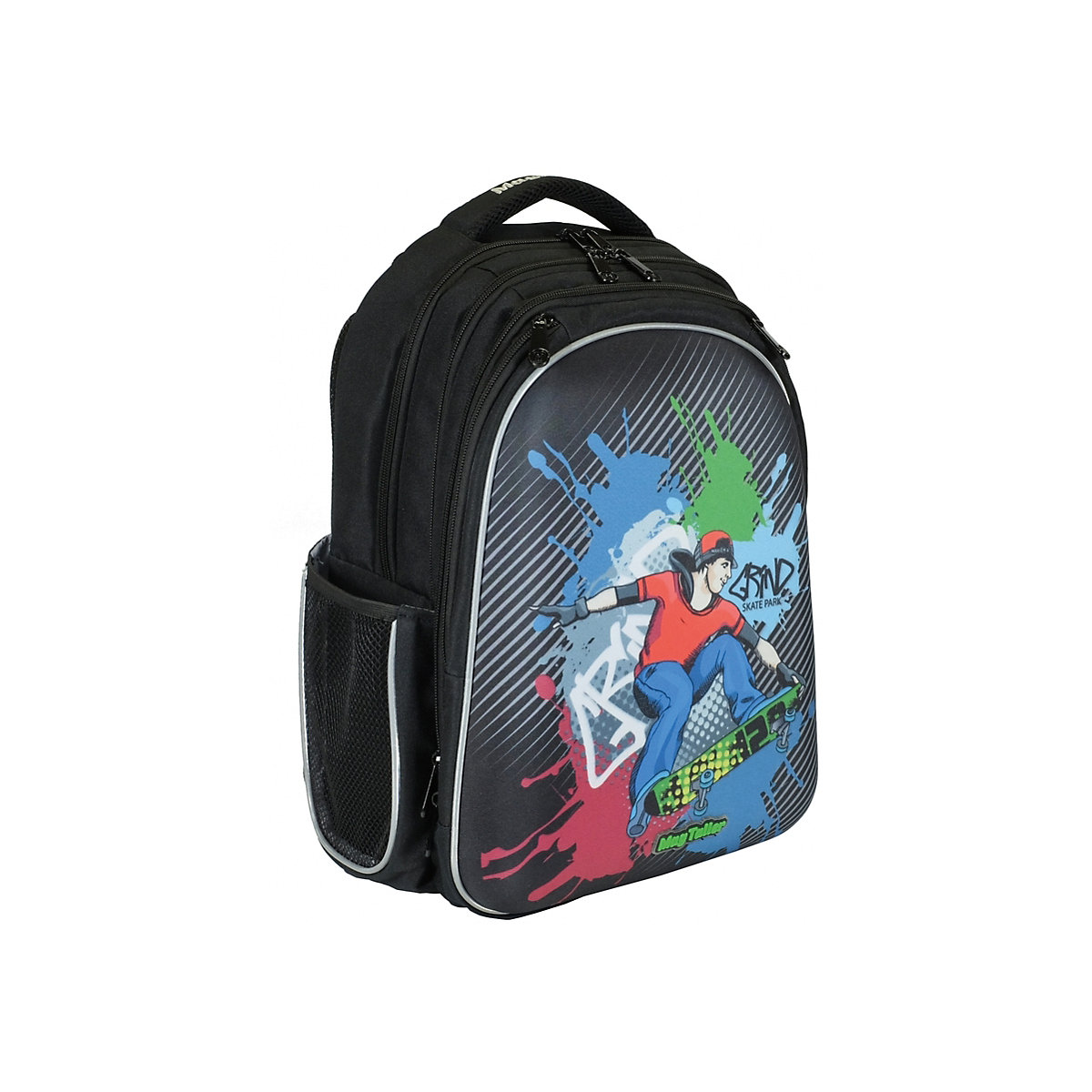 School Bags MAGTALLER 8316028 Schoolbag Backpack Orthopedic Bag For Boy And Girl Animals Flowers
