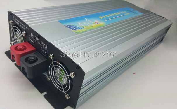 3000 watt Solar Wind Power System <font><b>Inverter</b></font> 12 v 24VDC zu AC110V oder 220 v mit 6000 watt Surge Power, reine Sinus Welle 3000 watt off grid <font><b>Inverter</b></font> image