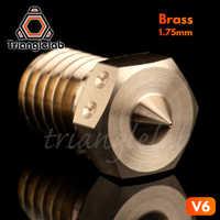 Boquillas Trianglelab de alta resolución de 0,15mm boquillas compatibles E3D HOTEND boquilla de perforación de precisión para impresora 3D