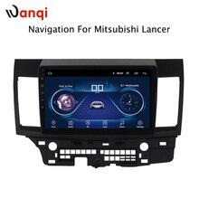 8,1 дюймов Android 2007 автомобиль дюймов dvd gps навигация для mitsubishi lancer 10,1-2015 Мультимедиа Радио dvd системы