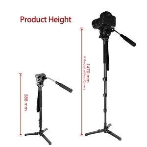 Image 4 - Kingjoy Mp1008F Set Professional Monopod Set Dslr For All Models Camera Tripod Stand Para Movil Flexible Tripe Stativ Slr Dslr
