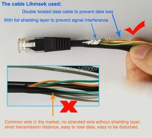 Image 5 - Lihmsek مميزة DC5V 2A USB أنثى بو الخائن DC38 56V المدخلات 802.3af القياسية 100 متر نقل الطاقة البيانات معزولة بو