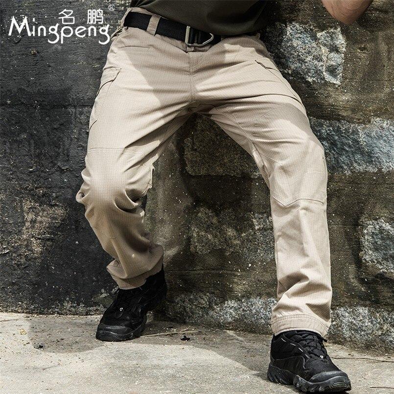 Wojskowe taktyczne spodnie w stylu cargo mężczyzna wodoodporny szybkie suche spodnie wysokiej jakości lekkie oddychające Stretch spodnie na co dzień w Bojówki od Odzież męska na AliExpress - 11.11_Double 11Singles' Day 1