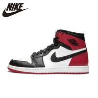 Nike Authentic Air Jordan 1 Og Retro Royal Aj1 Men's Basketball Shoes Breathable Anti slip Sports Sneakers Outdoor 555088