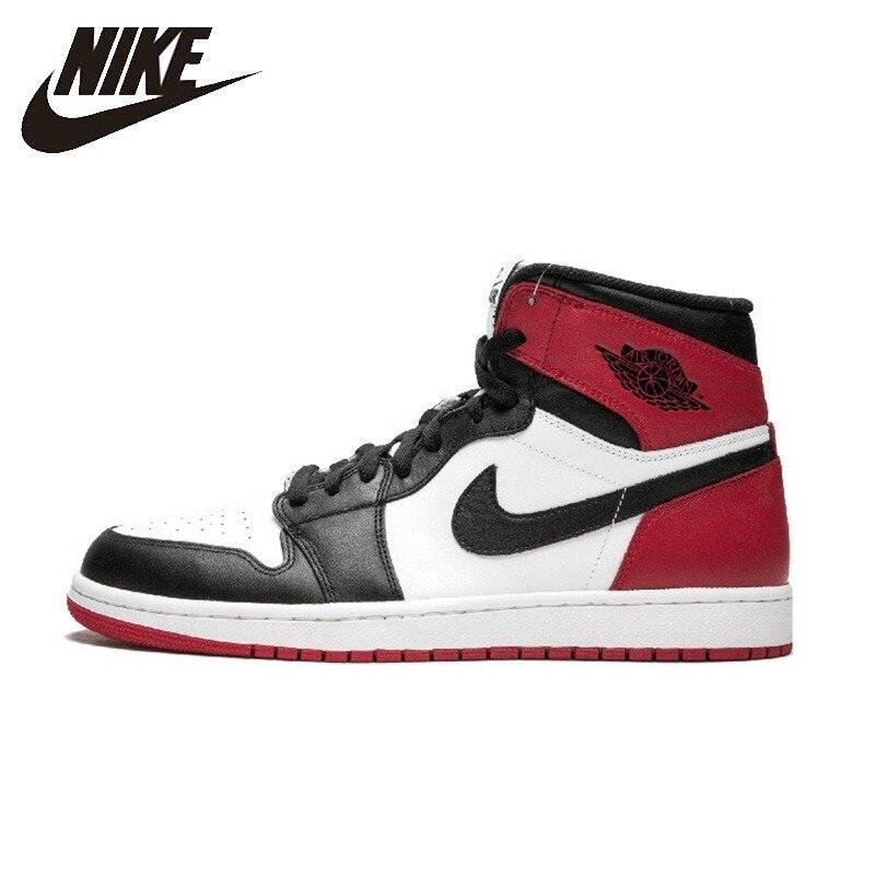 Nike Authentiques Air Jordan 1 Og Rétro Royal Aj1 basketball pour hommes Chaussures Respirant anti-dérapant Sport Sneakers En Plein Air 555088