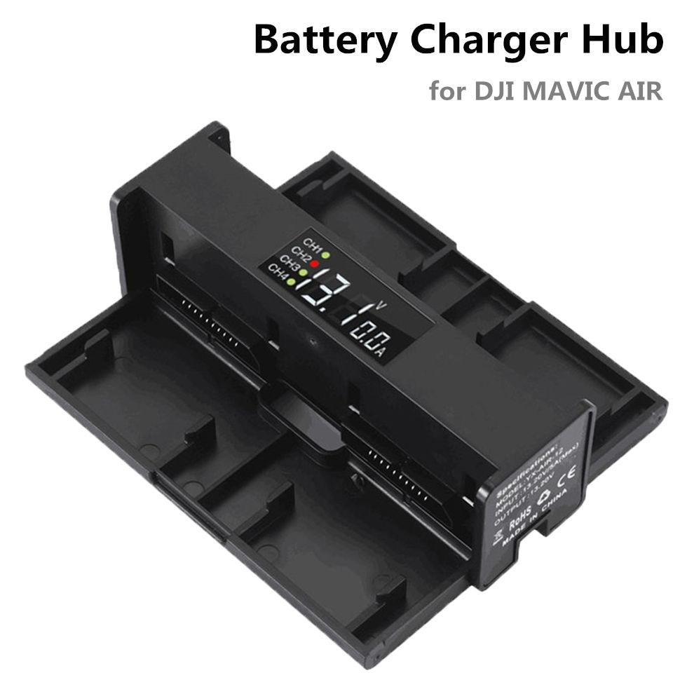 Mavic Air Charger For DJI Mavic Air Intelligent Flight Battery Charging Hub Parallel Charging Board Battery Balance Manager