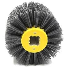 Новинка 1 шт. нейлоновая абразивная проволока Dupont барабанная полировальная электрическая щетка для деревообработки металлообработки