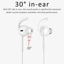 3 or 1Pairs Silicone Hook-Shaped Headset Stabilizer 30 Degrees In-ear Anti-slip Ear Hooks Covers Accessories for AirPods EarPods