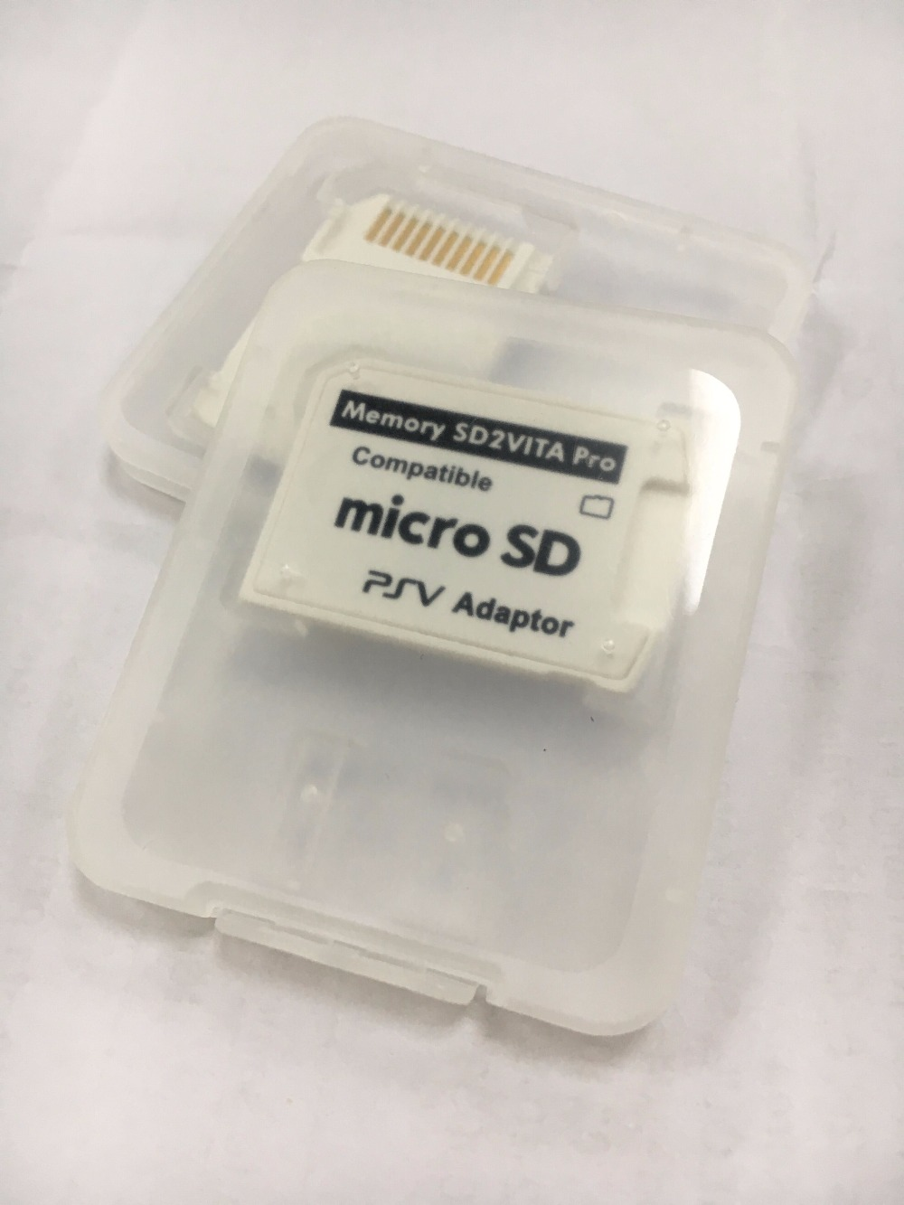 50pcs sd2vita 5 0 Version5 0 SD2Vita For PSVita 1000 2000 Memory Game Card to Micro