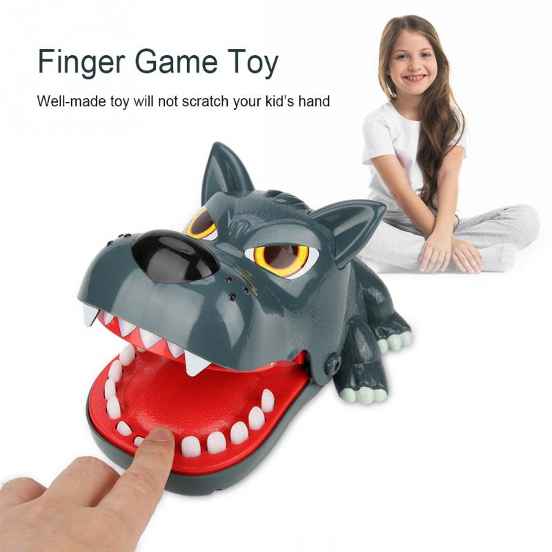 Funny Novelty Toy Dog/shark Mouth Dentist Bite Finger Toys For Kids Children Family Challenge Game Stress Relief Toy Gags & Practical Jokes Toys & Hobbies