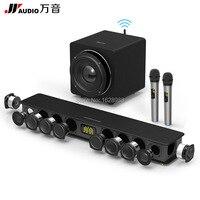 300 K Bluetooth динамик для звуковая панель телевизора с WS9 беспроводной сабвуфер микрофон KTV домашний кинотеатр звуковая панель Поддержка TF AUX опт