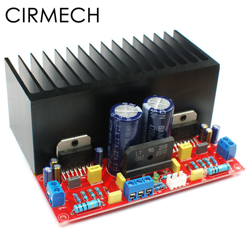 100w Stereo Audio Power Amplifier With Tda7294