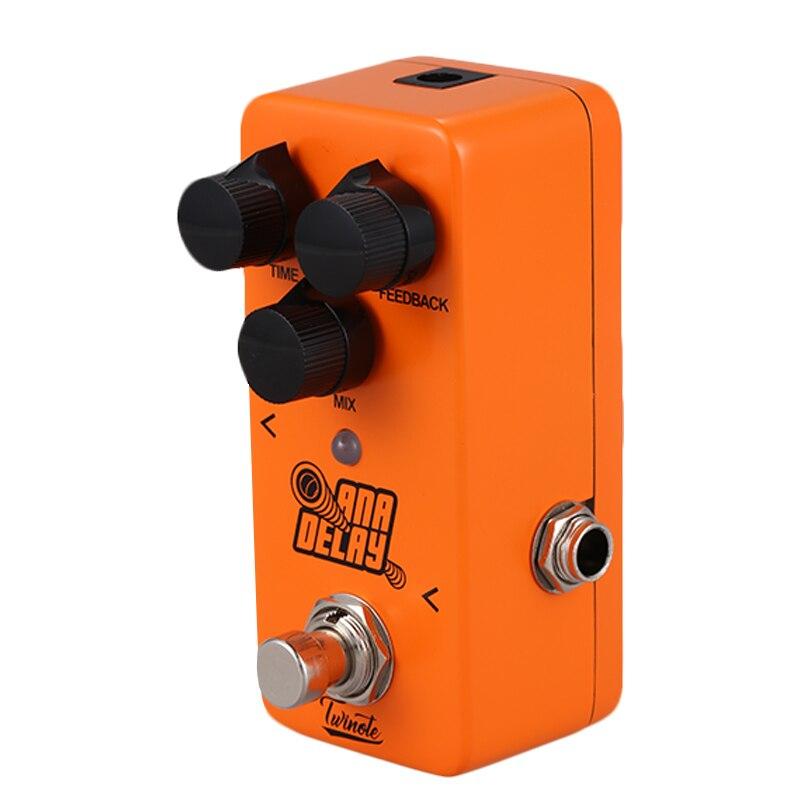 Nouveau Twinote TDL-1 alimentation et effet guitare pédale Overdrive son pédale de guitare