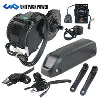 36V 250W BBS01 8Fun /Bafang mid crank drive motor kit with 36V 16Ah lithium ion Hailong eBike Battery