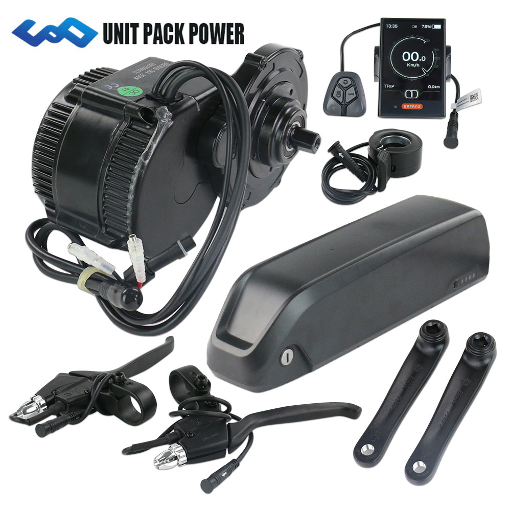 US EU No Tax 36V 250W BBS01 8Fun /Bafang mid crank drive motor kit with 36V 16Ah lithium ion Hailong eBike Battery us eu no tax hailong down tube ebike battery 36v 17ah lithium ion lg power cell electric bicycle battery pack with usb