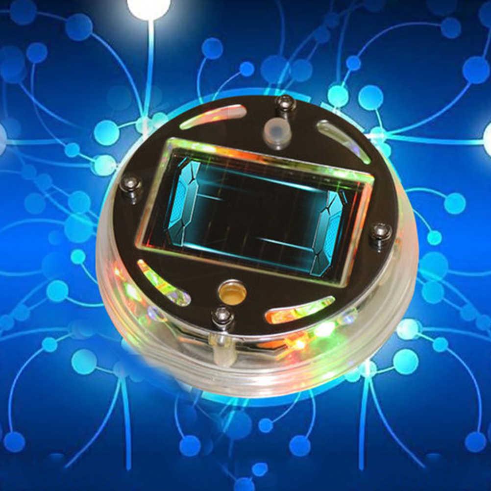 Колеса автомобиля солнечной энергии светодиодный флэш-неоновый чехол свет автомобильных шин лампа обод колеса центр подсветка втулки авто украшение автомобиля для укладки