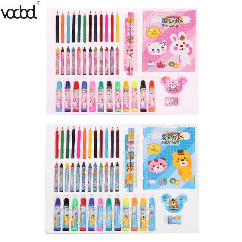 VODOOL aquarelle stylo Crayons de couleur Crayons de couleur jeu de dessin outils dartVODOOL aquarelle stylo Crayons de couleur Crayons de couleur jeu de dessin outils dart