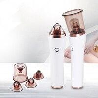 Nose Cleanser Cupping Vacuum Facial Pore Remover Electric Acne Blackhead Portable