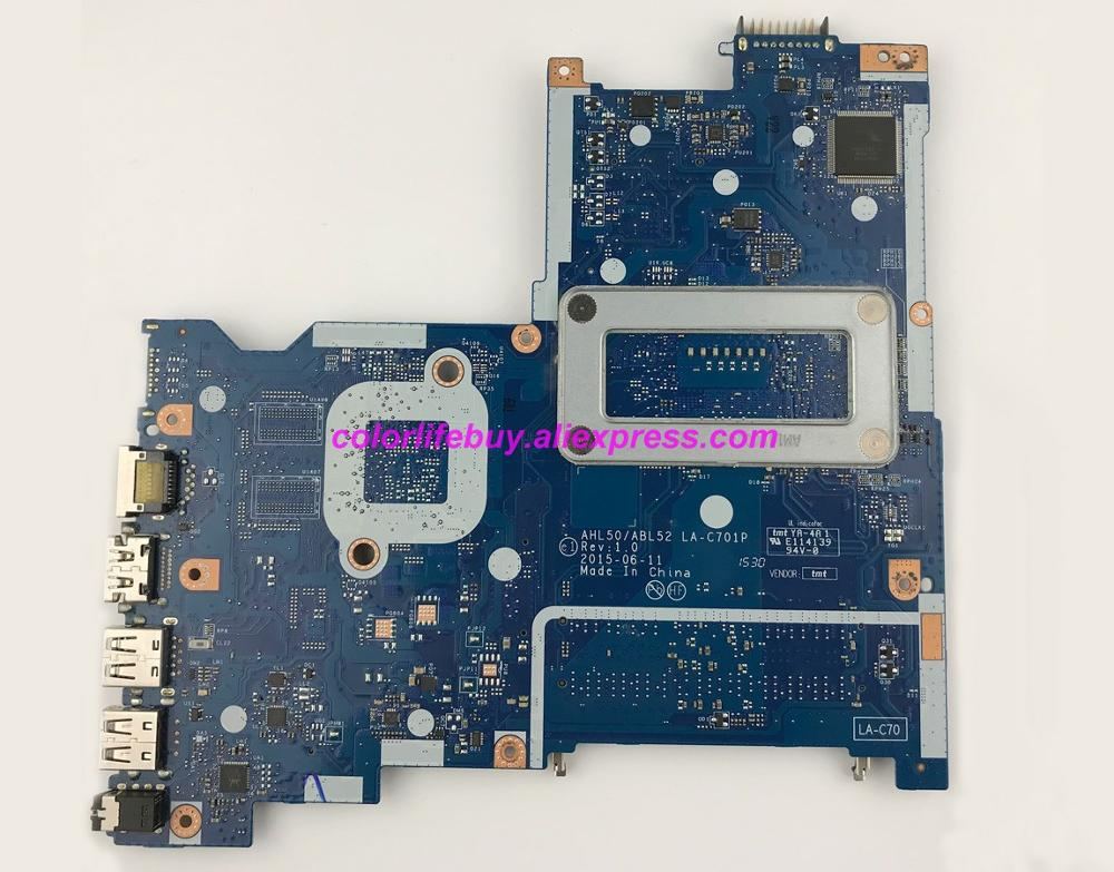 Genuine 816811 501 816811 001 816811 601 LA C701P w i3 5010U UMA Motherboard for HP 15 AC Series 15T AC000 NoteBook PC in Laptop Motherboard from Computer Office