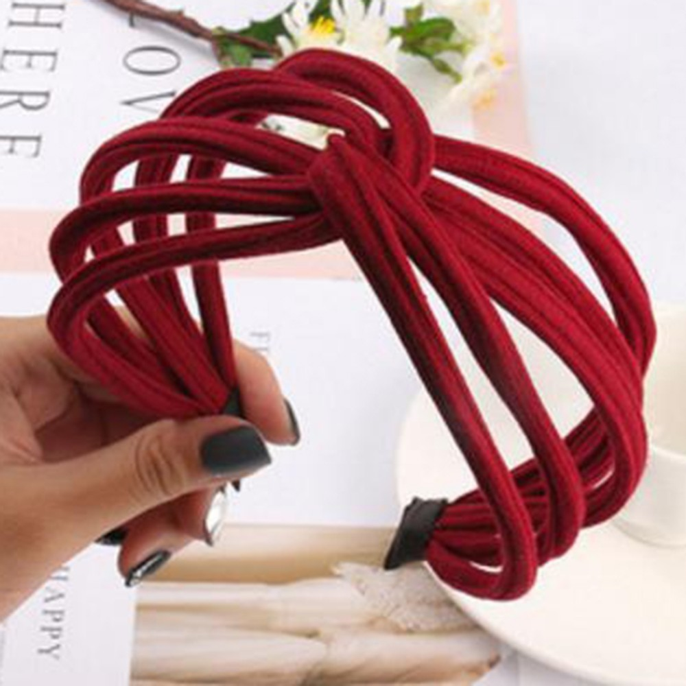 Summer Korean Fashion Wide Hairband Scrunchy Women Girls Hair Head Hoop Bands Accessories For Women Headdress Hairbands   Headwear