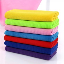 Cooling Ice Microfiber Towel Sport Cold Feel Motion Lengthen Wipe Sweat Gym Badminton Run Men And Women General Purpose