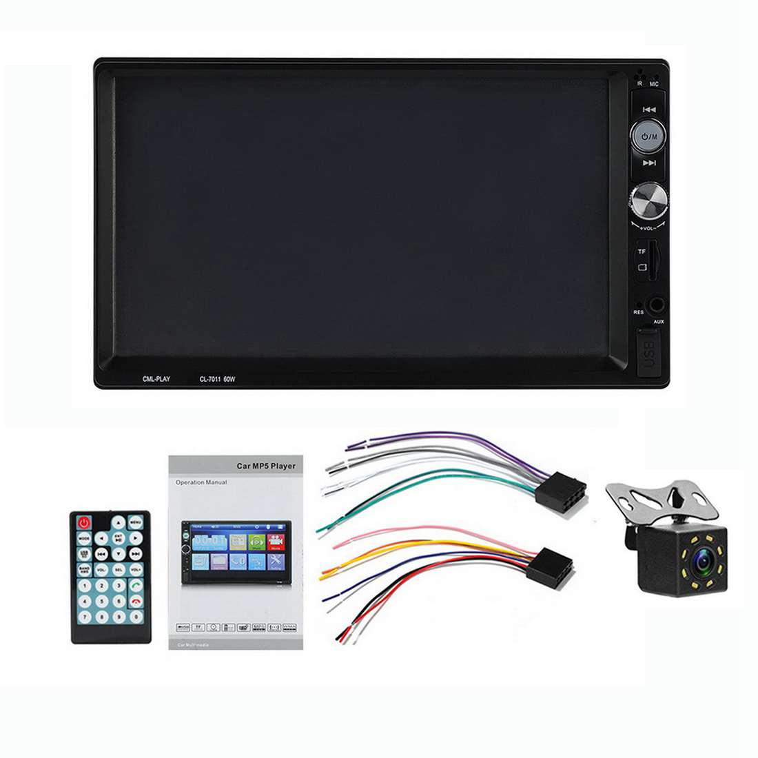 NEW-Newest 7 Inch Lcd Autoradio CL-7011 2 Din Car Mp5 Player With Mirroring Android Bluetooth Multimedia Car Radio Stereo FMNEW-Newest 7 Inch Lcd Autoradio CL-7011 2 Din Car Mp5 Player With Mirroring Android Bluetooth Multimedia Car Radio Stereo FM
