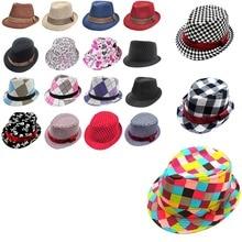 2-6 years Best Gift to Children Child Jazz Hat Toddler Kids Baby Boy Girl Cap Cool Photography Fedora Cotton Hats