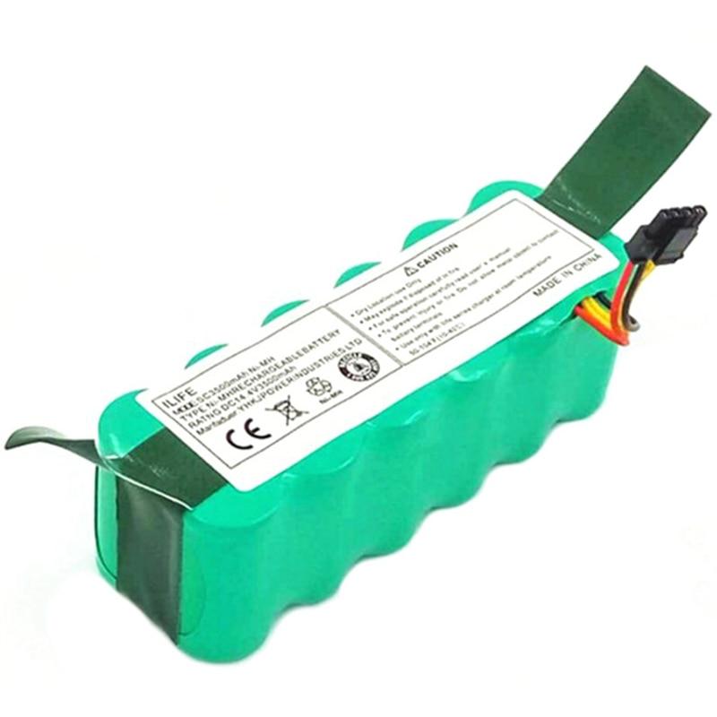 Ni-mh 14,4 V 3500 Mah для Panda X500 X600 Батарея Для Ecovacs зеркало Cr120 пылесос Dibea X500 X580