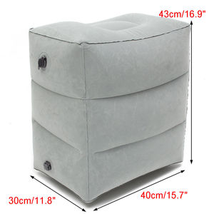 Image 2 - Newest Hot Useful Inflatable Portable Travel Footrest Pillow Plane Train Kids Bed Foot Rest Pad8