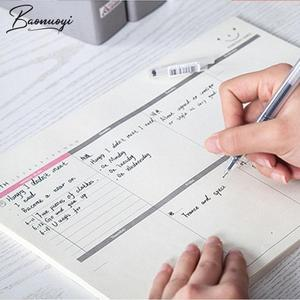 A4 Desk Working Planner Memo Pad Note Book Planners 60 Sheets Daily Planning Quality Office Supplies School Stationery Tool