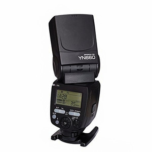 Image 3 - YONGNUO YN660 flash inalámbrico speedlite GN66 2,4G inalámbrico Radio maestro esclavo para Canon Nikon Pentax Olympus YONGNUO speedlite YN 660